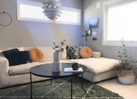 简单又清爽的家居设计风格装修效果图
