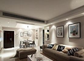 现代3居室婚房弥漫着咖啡香气 ,整体设计清雅脱俗