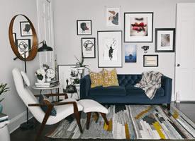 45㎡小公寓里的高级感装修效果图