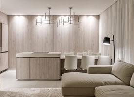 纯净温暖时尚小户型公寓装修效果图欣赏
