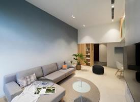 49.5m²简约风公寓设计温暖,风趣的三口之家