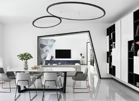 一组特别有创意感的公寓装修效果图