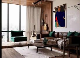 小夫妻的50平公寓装修效果图欣赏