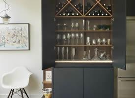 室内酒柜设计参考装修效果图欣赏