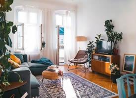 阳光与阳台并存的理想家居装修效果图