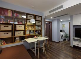 65平简约风小户型二居室,温馨浪漫而又舒适