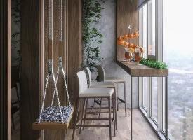 阳台上的悠闲时光,家居环境舒适度的提升