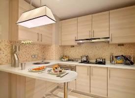 干净整洁的厨房设计,让下厨的心情也变得轻松愉快
