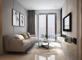 现代北欧风格一居室