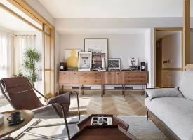 115平复古混搭风四居室,休闲舒适的精致美宅