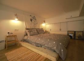 43平米一居室北欧风格装修设计