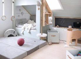 儿童房的梦幻创意空间布局灵感