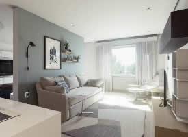 68㎡小户型家居装修设计
