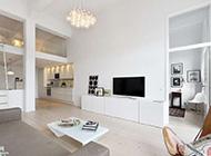 纯白清爽阁楼公寓装饰设计