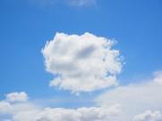 一望无际的蓝天白云图片(10张)