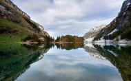平静的湖面图片(14张)