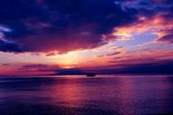 美丽的落日风景图片(21张)