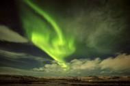 绿色的极光风景图片(12张)
