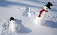 冬季雪人图片(11张)