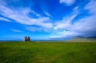 蓝天下的田野图片(11张)