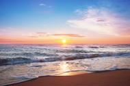 海边日出风景图片(11张)