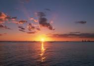 夕阳下的云彩图片(21张)