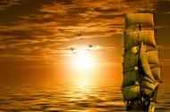 唯美的日出日落图片(10张)