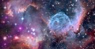 宇宙中的星云图片(14张)