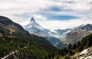 阿尔卑斯雪山风景图片(14张)