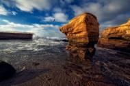 海边的岩石图片(11张)