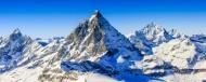 雪山顶部景色图片(13张)