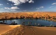 沙漠绿洲美景图片(10张)
