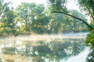 早晨湖泊景色图片(12张)