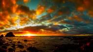 美丽的夕阳海景图片(19张)