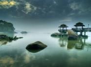 湖面倒影风景图片(24张)