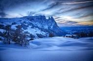 唯美的雪景图片(7张)