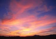夕阳下的云彩图片(42张)