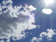 天空中的白云图片(14张)