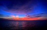 海边晚霞风景图片(8张)