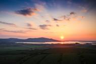 壮观的日出图片(14张)