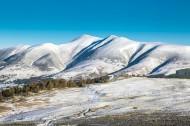 高山冬季冰雪风景图片(14张)