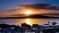 海边斜阳风景图片(10张)