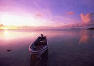 海边落日唯美紫霞图片(13张)
