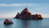 海边礁石风景图片(9张)