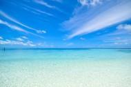 蓝天白云大海图片(10张)