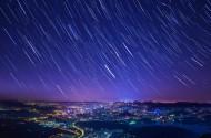 美妙灿烂的星空图片(9张)