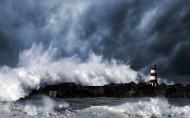 波涛汹涌的大海图片(8张)