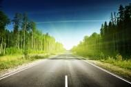 柏油路景色图片(8张)