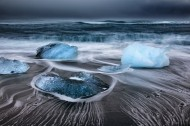 美丽的冰川景色图片(9张)