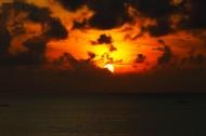 海滩日落图片(11张)